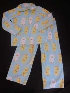 Girl Carters 2pc button down Comfy fleece pajamas CHOOSE Daisy Duck
