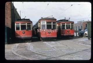 Duplicate Slide Streetcar CTA Chicago 317/6141/234