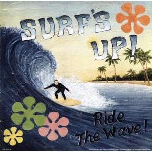 Surfs Up by David Carter   Brown 10x10:  Kitchen & Dining