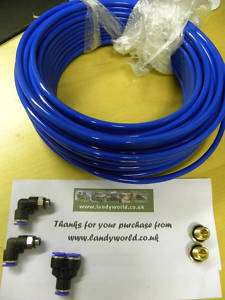 LAND ROVER DEFENDER 90 110 EXTENDED AXLE BREATHER KIT