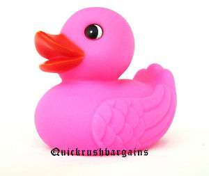 Large Pink Bath Rubber Duck/ Water Fun