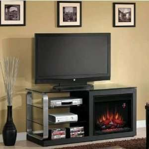 Classic Flame Luxe TV Stand with 23in Electric Fireplace