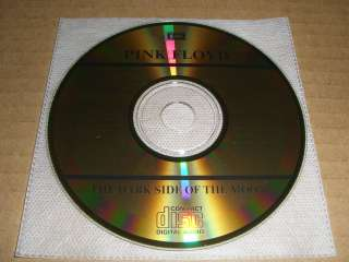 PINK FLOYD THE DARK SIDE OF THE MOON Japan 24K GOLD CD