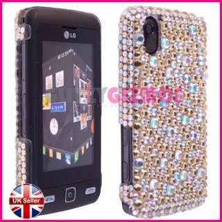 BLING DIAMOND GEM CASE COVER FOR LG COOKIE KP500
