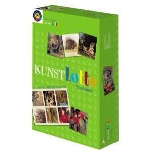 Prestel Spiel Kunst Lotto. Tierbilder. Suchen, Erkennen, Sammeln