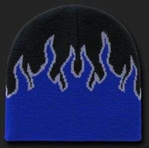 bonnet flamme bleu west coast choppers hot rod kustom