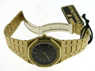 AUDEMARS PIGUET ROYAL OAK REFERENZA 6008 42 ORO GIALLO 18KT QUADR NERO