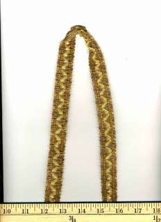 Description      This is a flat braid decorative trim that can be