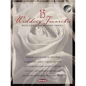 15 WEDDING FAVORITES (0073999097962): Hal Leonard Corp.: Books