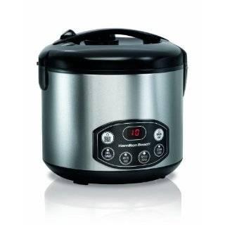 Hamilton Beach Digital Simplicity Deluxe Rice Cooker / Steamer