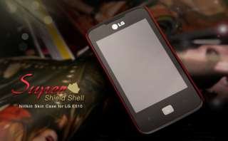New LG Optimus Hub E510 Hard Mobile Case with Free Screen Protector