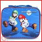 Nintendo Super Mario Wii Kart School Lunch Bag /Box
