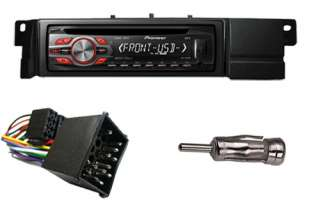 Pioneer DEH 1400UB Car Stereo CD MP3 Player with BMW 3 (E46) Series