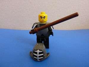 Lego Ninjago minifigures Kendo Cole ninja nero nuovo