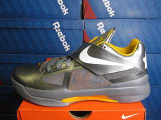 NIKE MENS ZOOM KD IV COOL GREY DEL SOL BASKETBALL