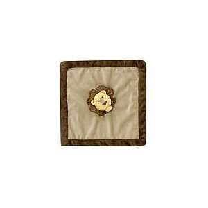 Amy Coe Zoology Baby Security Blanket   Lion