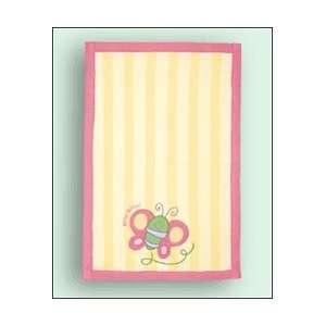 Stephen Joseph Butterfly Baby Burp Cloth