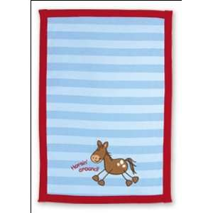 Stephen Joseph Horse Baby Burp Cloth