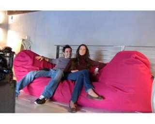 Pouf puf divano enorme sacco design sofà nuovo !