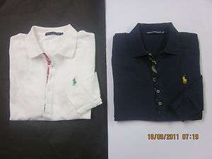 RALPH LAUREN designer womens / girls long sleeved polo shirt NEW