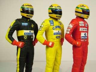 43 Ayrton Senna Lotus Renault McLaren Honda f1 Figure Helmet Nacional