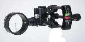 IMPACT NI 143 AIRLITE DX 1 PIN BOW SIGHT (BLACK)
