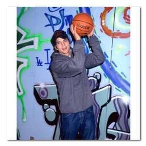 Ashton Kutcher Color Box Canvas Print Gallery Wrapped