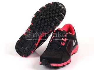 Nike Wmns Dual Fusion ST 2 Black/Metallic Silver Solar Red 2011 454240