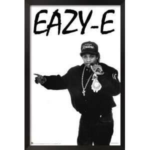 Eazy E Framed Poster Print, 24x36: Home & Kitchen