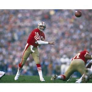 Joe Montana San Francisco 49ers   SB XIX Passing