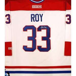 Patrick Roy Signed Uniform   Replica:  Sports & Outdoors