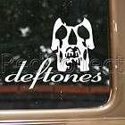 Deftones Skull Rock Band Logo Decal Car Truck Bumper Window Vinyl