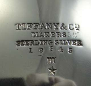 Made of Sterling Silver Tiffany & Co Hallmark Very Good Condition
