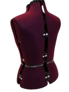 Dressmakers Dummy Mannequin Adjustable Dress Form Mannequins Size10 16