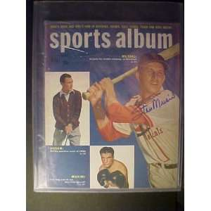 Stan Musial St. Louis Cardinals Autographed Summer 1950 Dell Sports