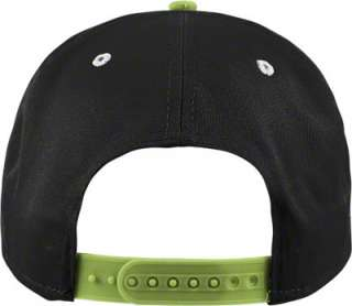 Oregon Ducks Grey/Light Green Shadow Script Snapback Adjustable Hat