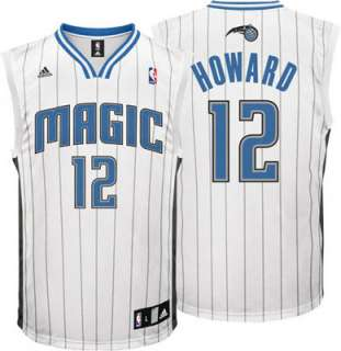 Dwight Howard Jersey adidas White Replica #12 Orlando Magic Jersey