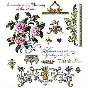 See Ds Clear Stamp Rubber Images   Victorian Flourishes