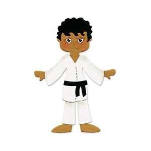 Sizzix Originals Die   Large Karate Uniform Dress Ups
