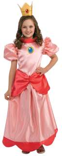 Princess Peach Costume   Nintendo Super Mario Brothers Costumes