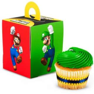 Halloween Costumes Super Mario Bros. Cupcake Boxes (4 count)