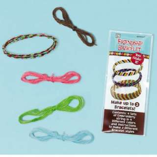 Halloween Costumes Hippie Chick Friendship Bracelet Kits (12 count)