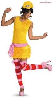 Sesame Street   Big Bird Sexy Female Adult Costume
