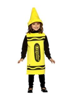 ... Kids Yellow Crayola Crayon Costume Girls Humorous Costumes at ...  sc 1 st  PopScreen & Childs Red Crayola Crayon Costume Girls Humorous Halloween Costumes