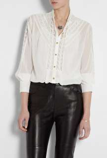 ALICE by Temperley  Ivory Esmeralda Lace Shirt by ALICE By Temperley