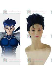 Fate Stay Night Lancer Cosplay Wig  Lancer Cosplay Wig