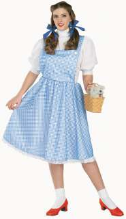 The Wizard of Oz Dorothy Plus Adult Costume   Includes the famous