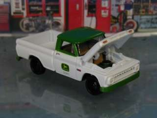 Hot 64 Chevy C10 Pickup John Deere Dealer Truck Limited Edition 1/64