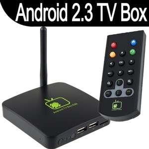 Google Android 2.3 HD 1080P Internet TV Box WIFI Media Player HDTV