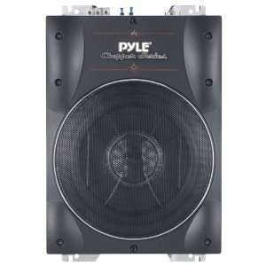 PYLE PLBASS8 8 SUPER SLIM ACTIVE SUBWOOFER: Car Electronics